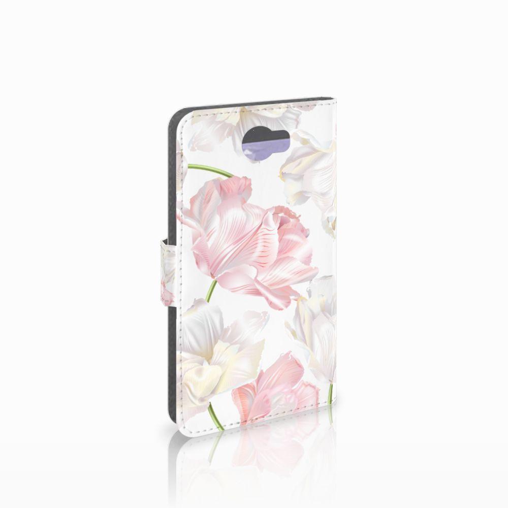 Huawei Y5 2 | Y6 II Compact Boekhoesje Design Lovely Flowers