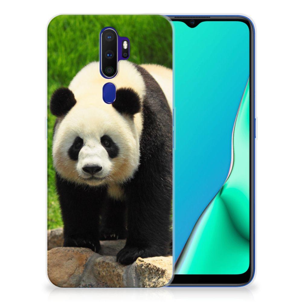 OPPO A9 2020 TPU Hoesje Panda