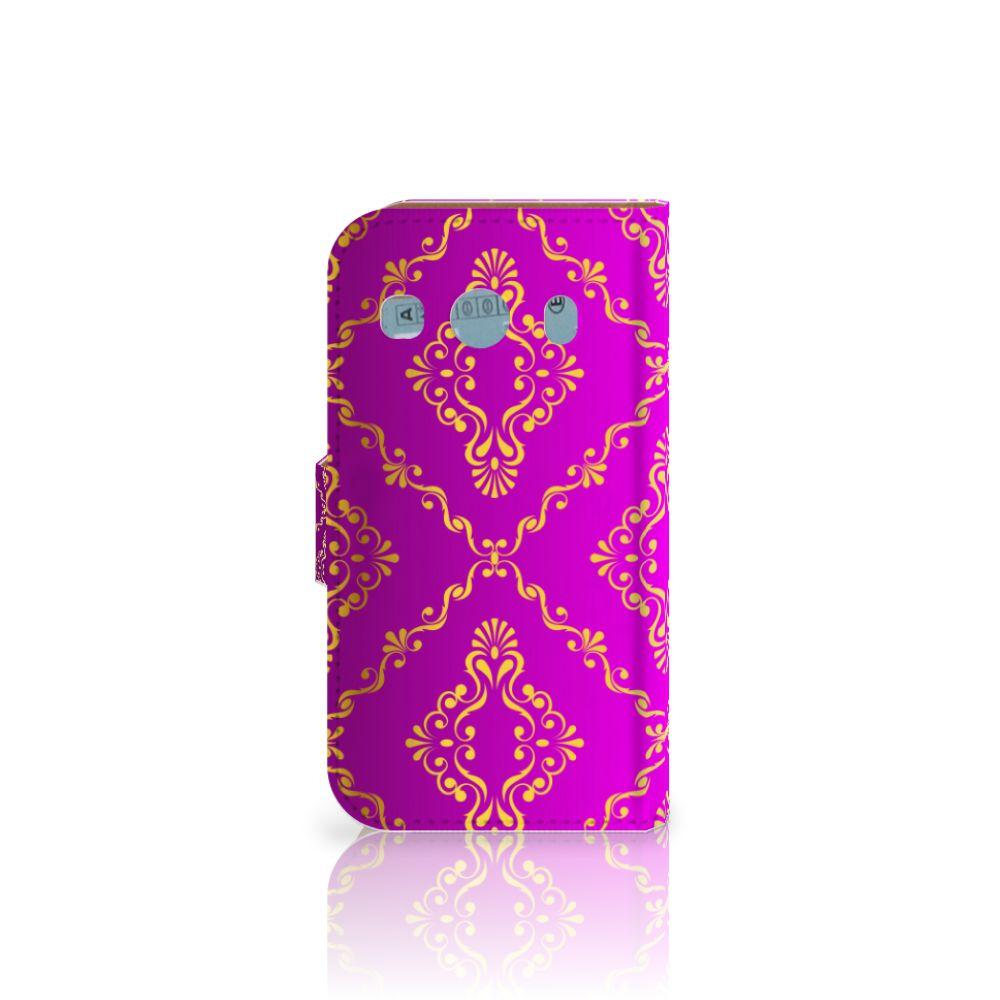 Wallet Case Samsung Galaxy Ace 4 4G (G357-FZ) Barok Roze