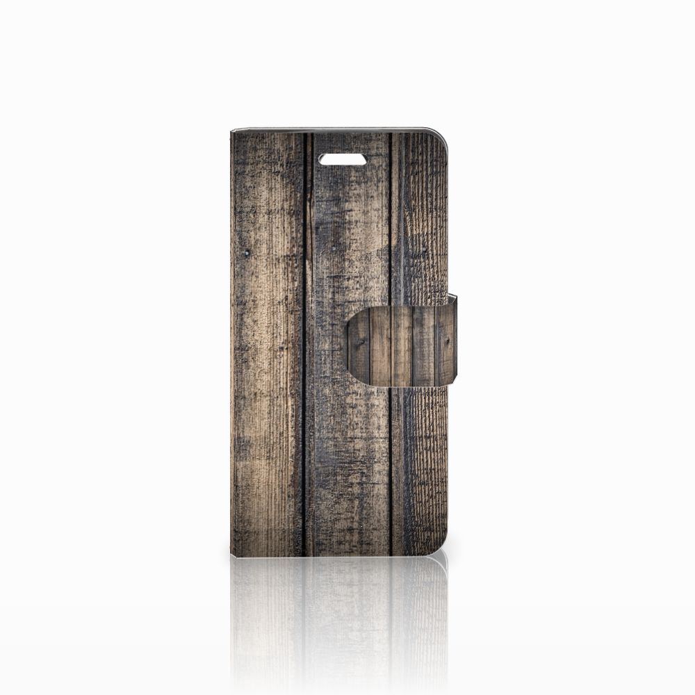 Acer Liquid Z330 Book Style Case Steigerhout