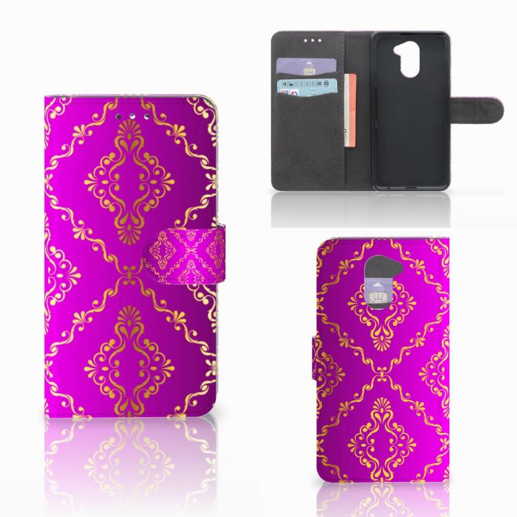 Wallet Case Huawei Y7 2017 | Y7 Prime 2017 Barok Roze
