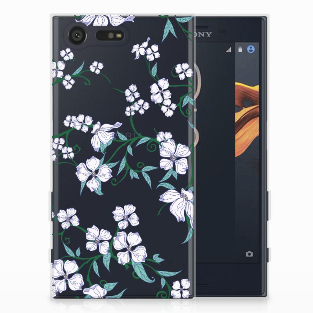 Sony Xperia X Compact Uniek TPU Hoesje Blossom White
