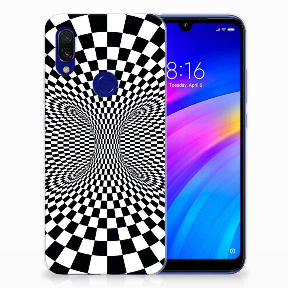 Xiaomi Redmi 7 TPU Hoesje Illusie