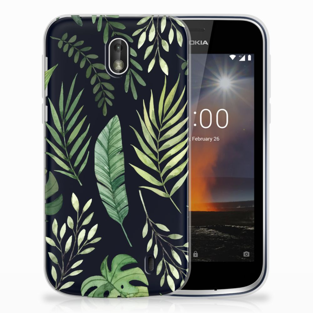 Nokia 1 TPU Case Leaves
