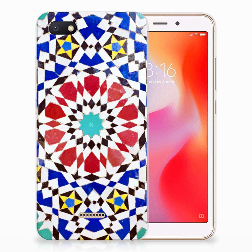 Xiaomi Redmi 6A TPU Siliconen Hoesje Mozaïek