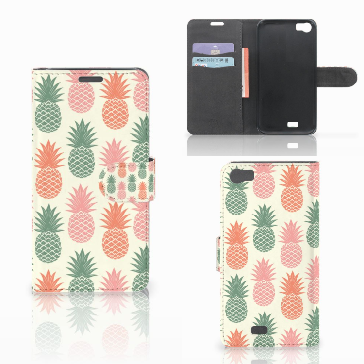 Wiko Lenny Book Cover Ananas