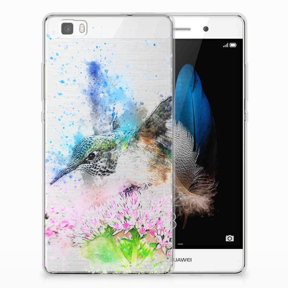 Huawei Ascend P8 Lite TPU Hoesje Design Vogel