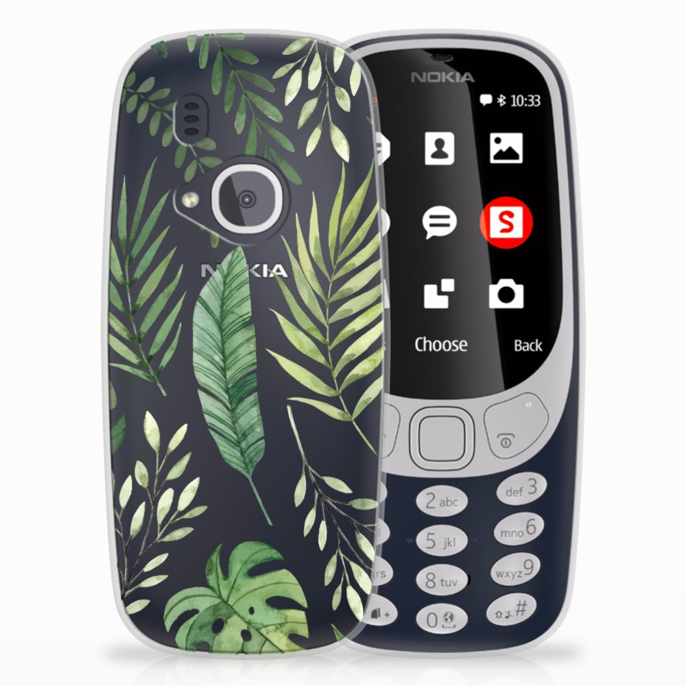 Nokia 3310 (2017) TPU Case Leaves