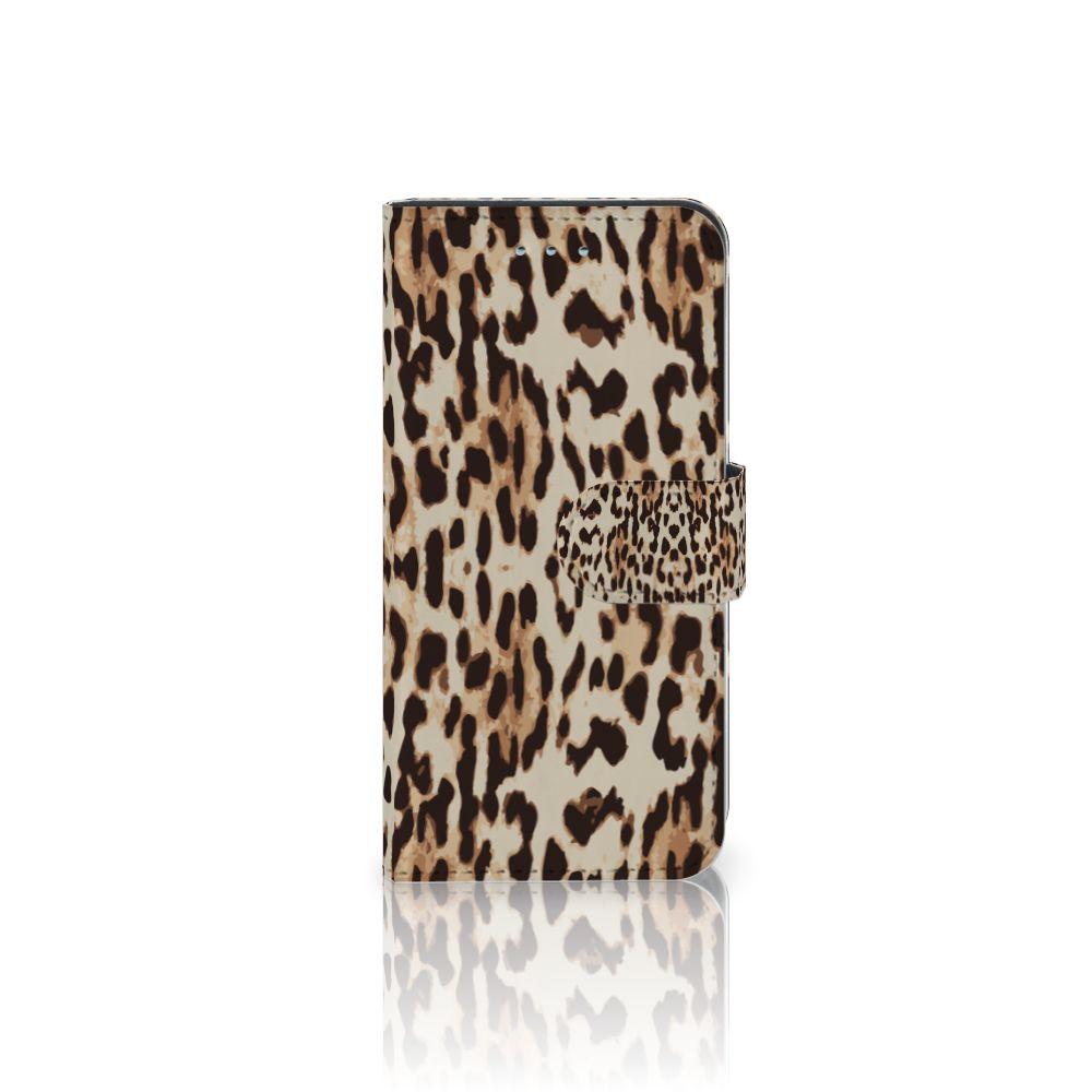 Samsung Galaxy S6 | S6 Duos Uniek Boekhoesje Leopard