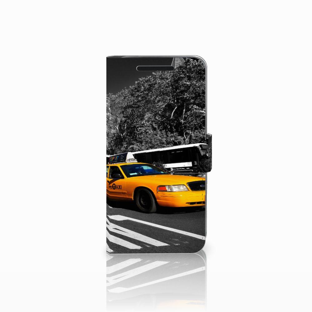HTC One M9 Boekhoesje Design New York Taxi
