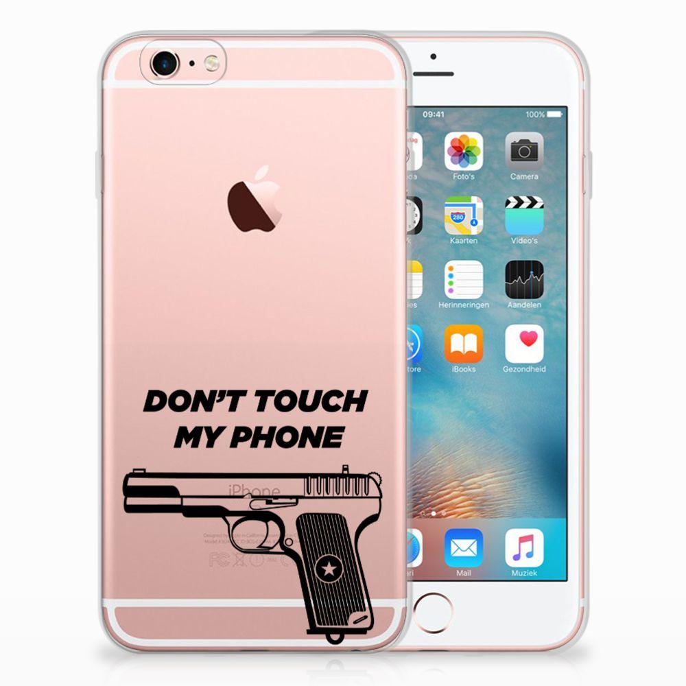 Apple iPhone 6 | 6s Uniek TPU Hoesje Pistol DTMP