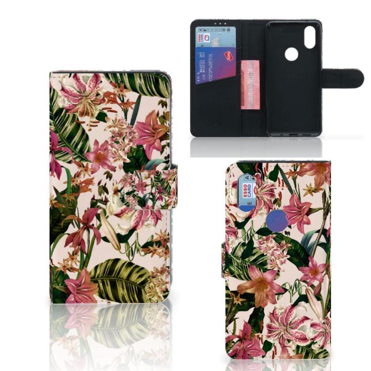 Xiaomi Mi Mix 2s Hoesje Flowers