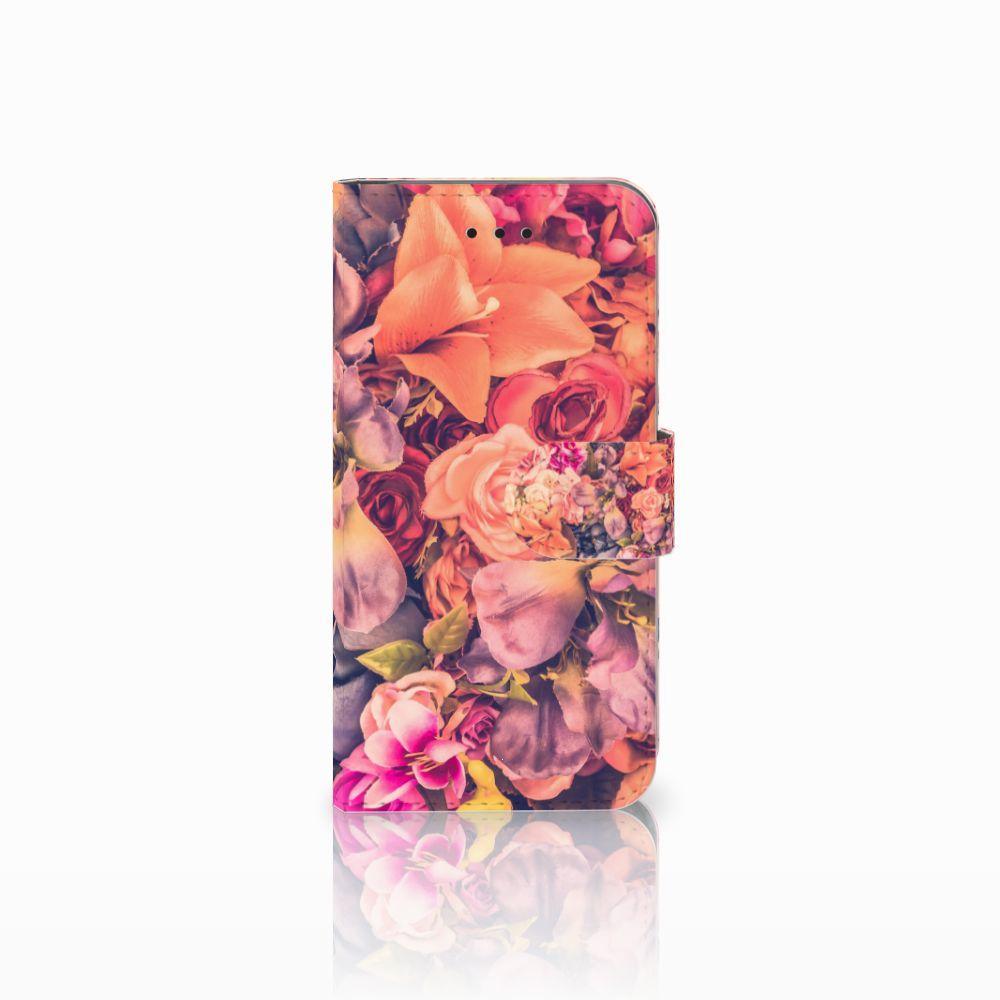 Apple iPhone X | Xs Boekhoesje Design Bosje Bloemen