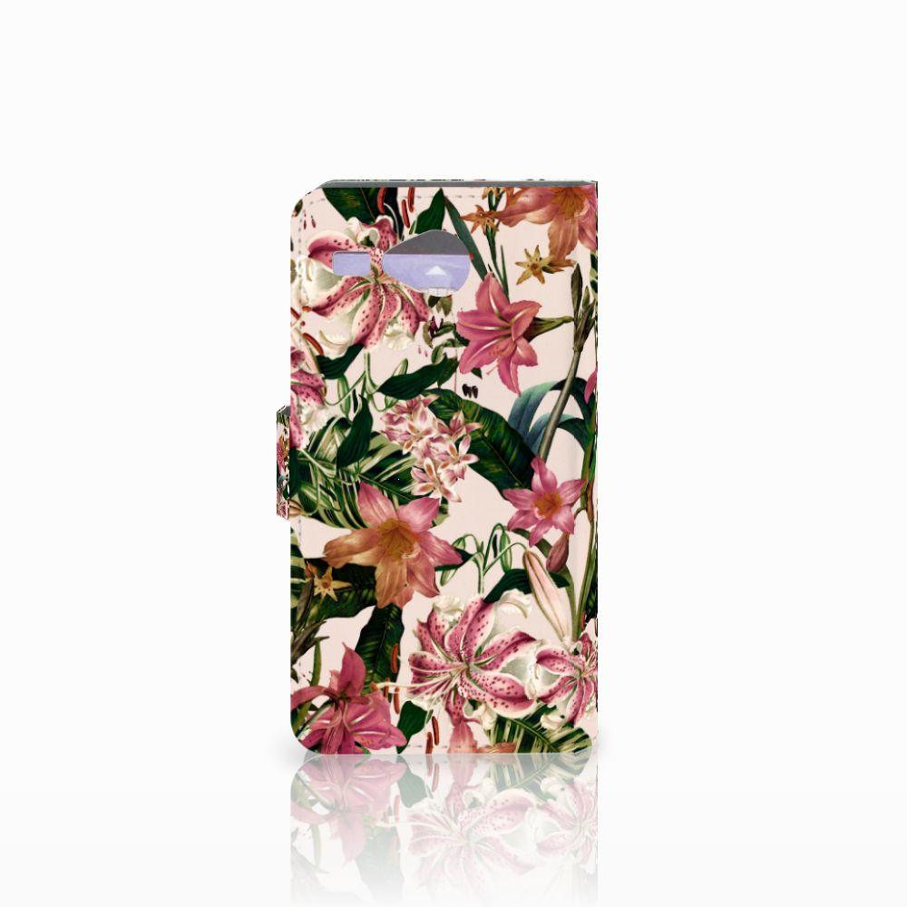 Acer Liquid Z520 Hoesje Flowers