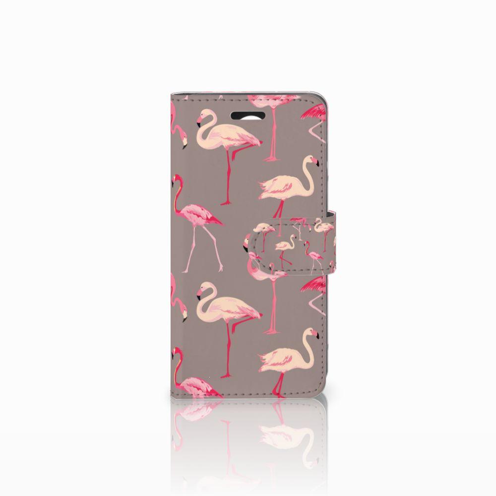 Huawei Y3 2 | Y3 II Uniek Boekhoesje Flamingo