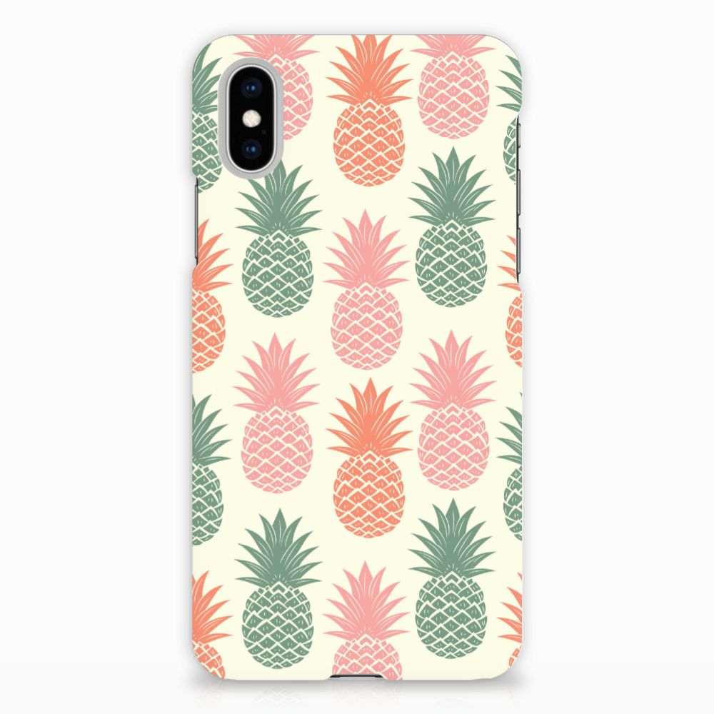 Apple iPhone X | Xs Hardcase Hoesje Design Ananas