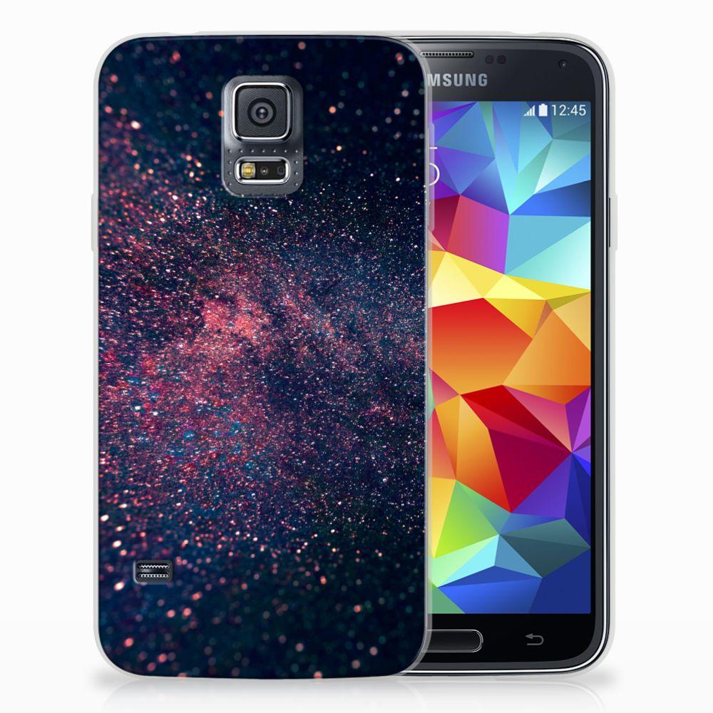 Samsung Galaxy S5 TPU Hoesje Stars