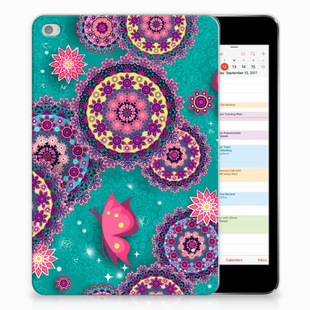 Apple iPad Mini 4 | Mini 5 (2019) Tablethoes Cirkels en Vlinders
