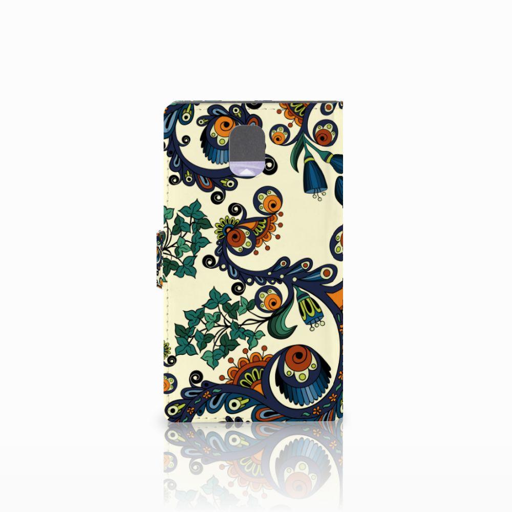 Wallet Case Samsung Galaxy Note 3 Barok Flower