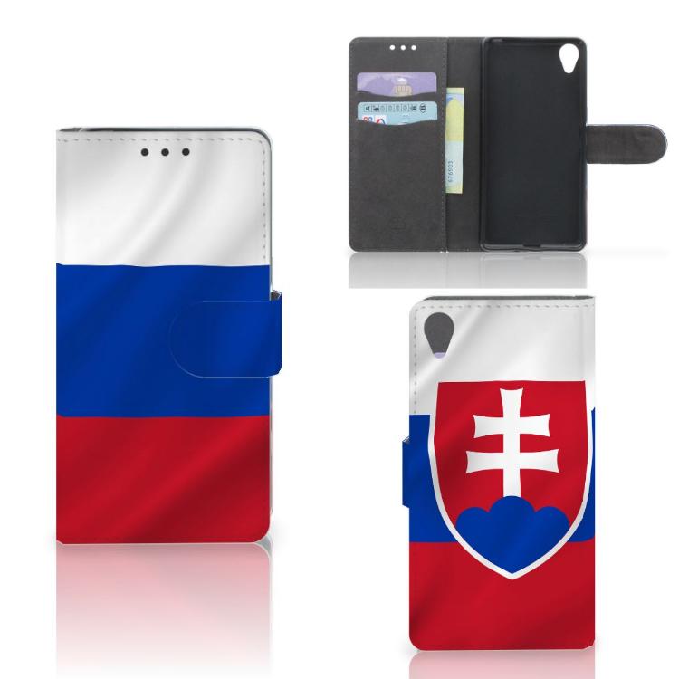 Sony Xperia X Bookstyle Case Slowakije