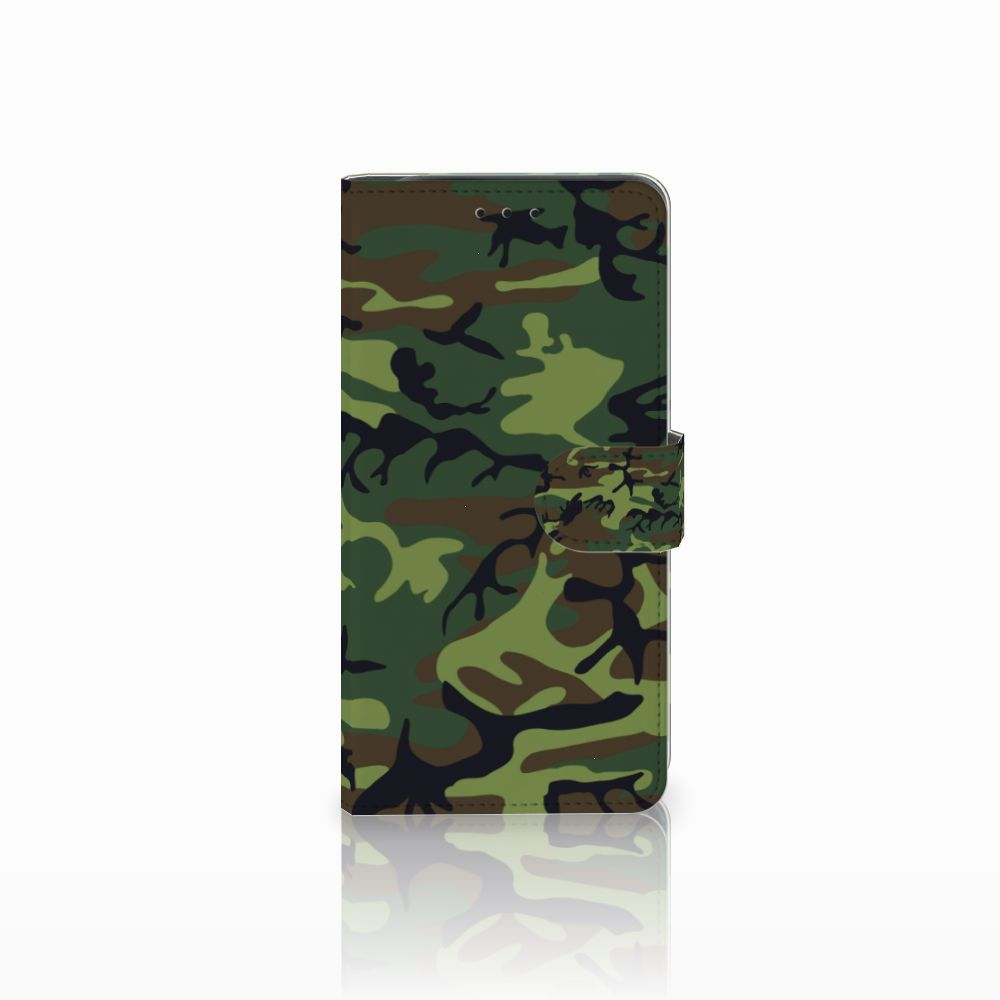 Samsung Galaxy J6 Plus (2018) Telefoon Hoesje Army Dark