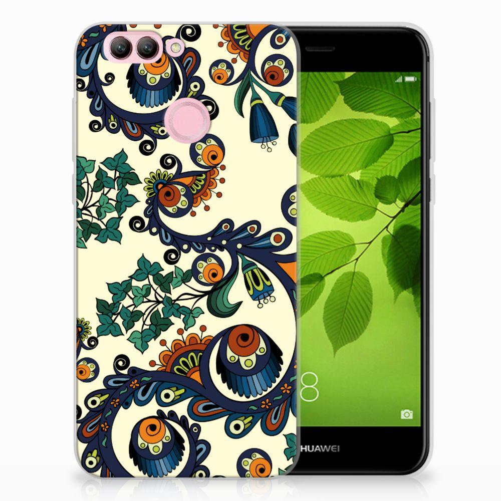 Huawei Nova 2 TPU Hoesje Design Barok Flower