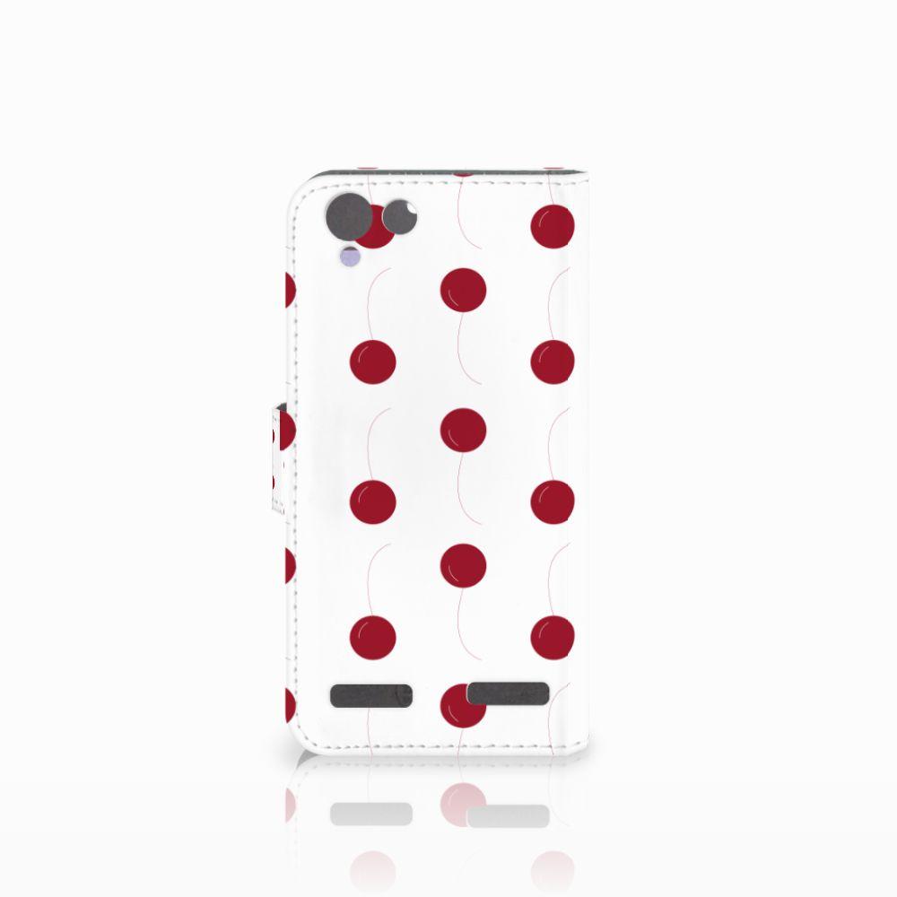 Lenovo Vibe K5 Book Cover Cherries