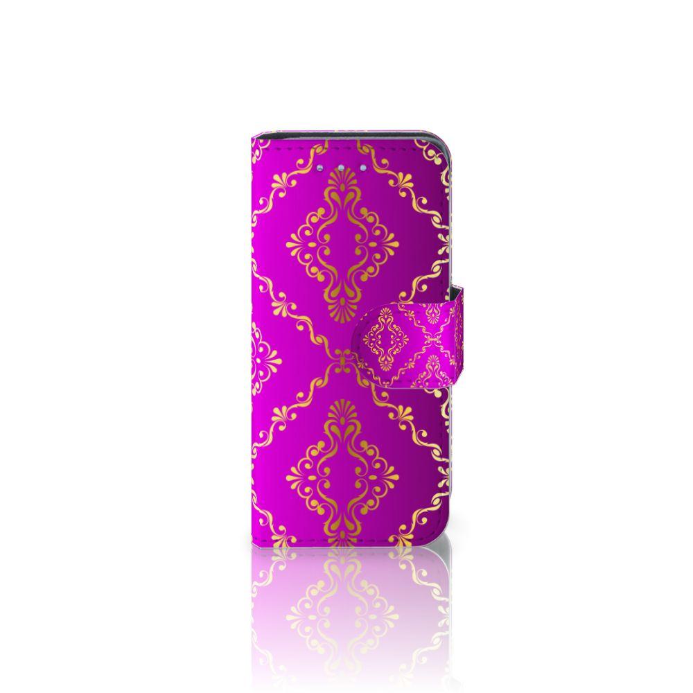 Samsung Galaxy S4 Mini i9190 Uniek Boekhoesje Barok Roze