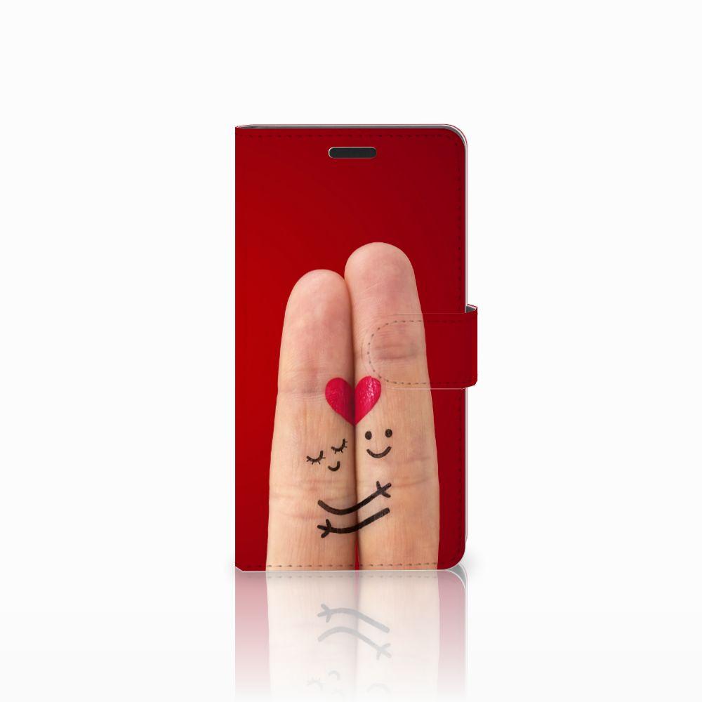 Samsung Galaxy A7 2015 Uniek Boekhoesje Liefde