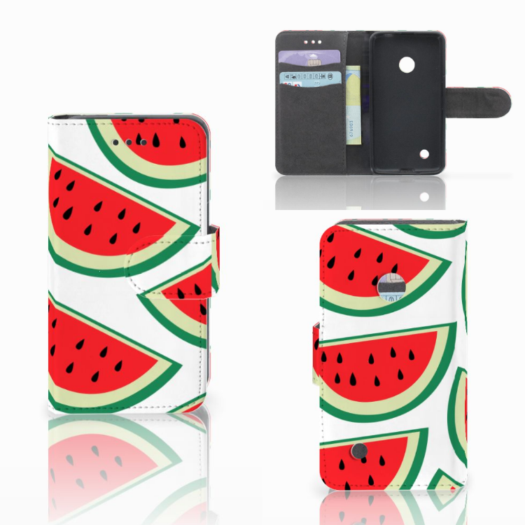 Nokia Lumia 530 Book Cover Watermelons