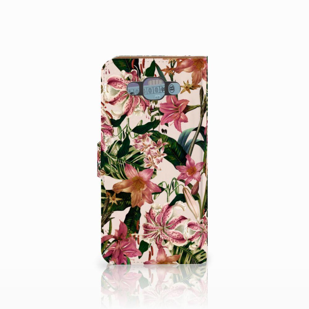 Samsung Galaxy E7 Hoesje Flowers