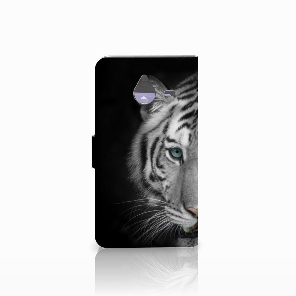Microsoft Lumia 640 XL Telefoonhoesje met Pasjes Tijger