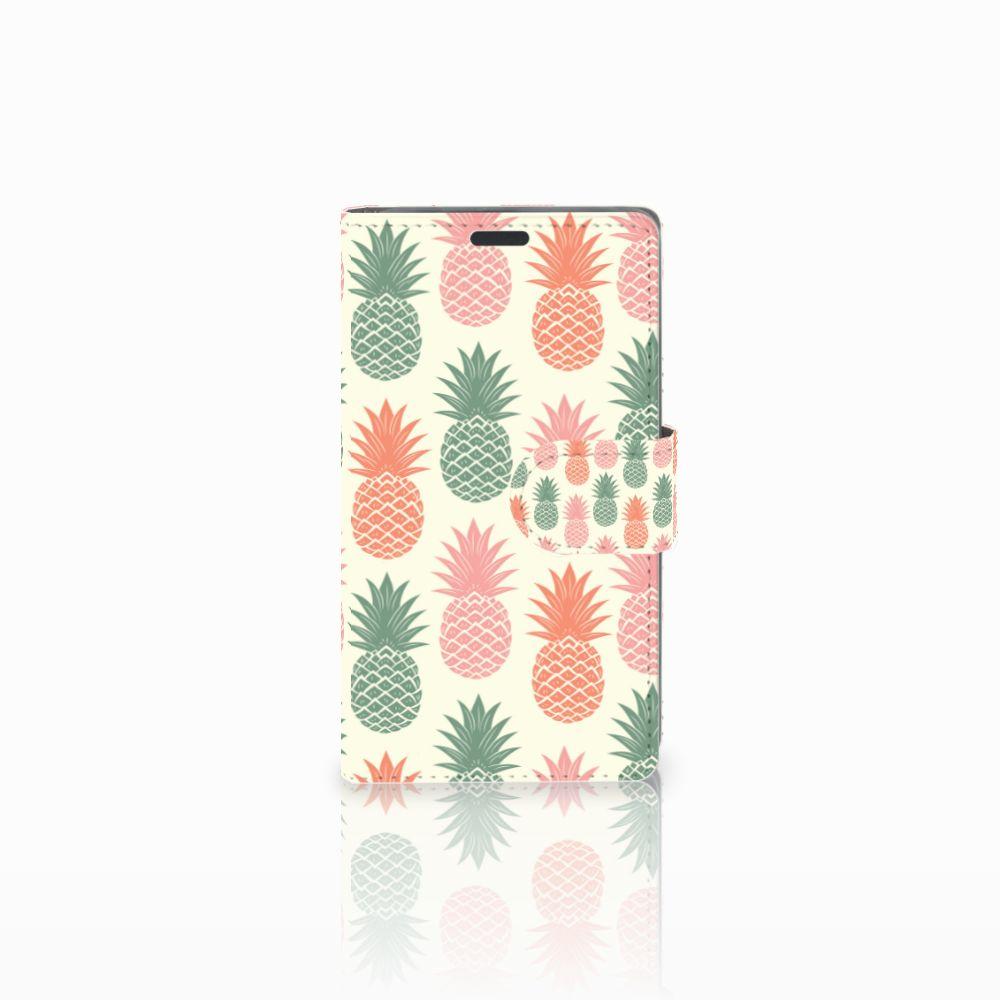 Nokia Lumia 625 Boekhoesje Design Ananas