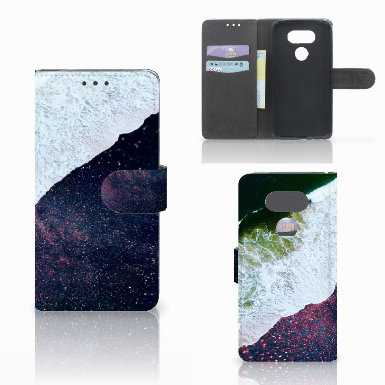 LG G5 Bookcase Sea in Space
