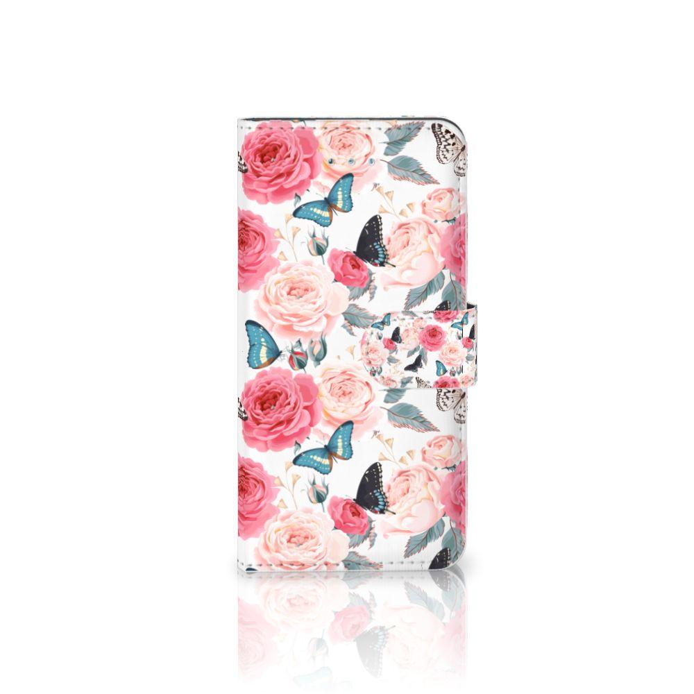 Honor 4A | Y6 Uniek Boekhoesje Butterfly Roses
