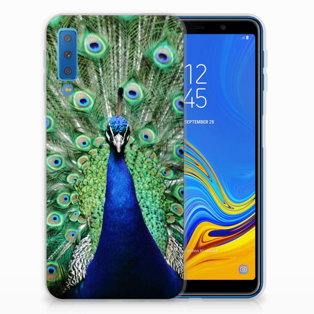 Samsung Galaxy A7 (2018) Leuk Hoesje Pauw