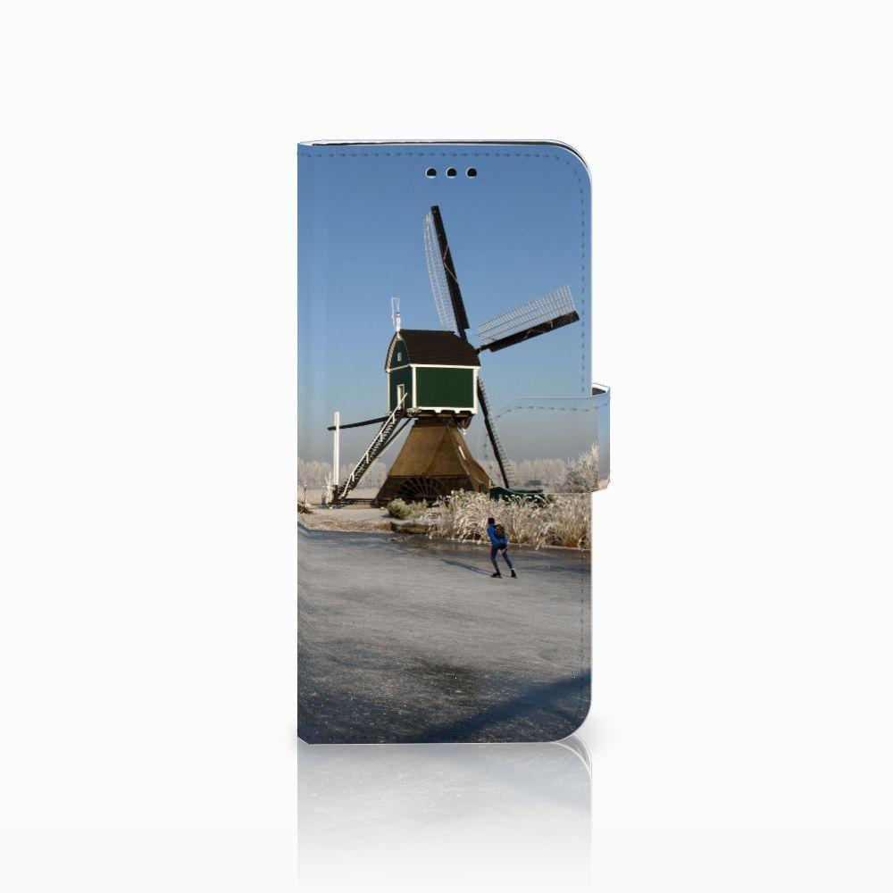 Samsung Galaxy S9 Plus Boekhoesje Design Schaatsers