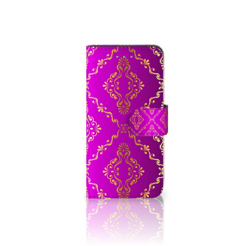 Samsung Galaxy S6 | S6 Duos Uniek Boekhoesje Barok Roze