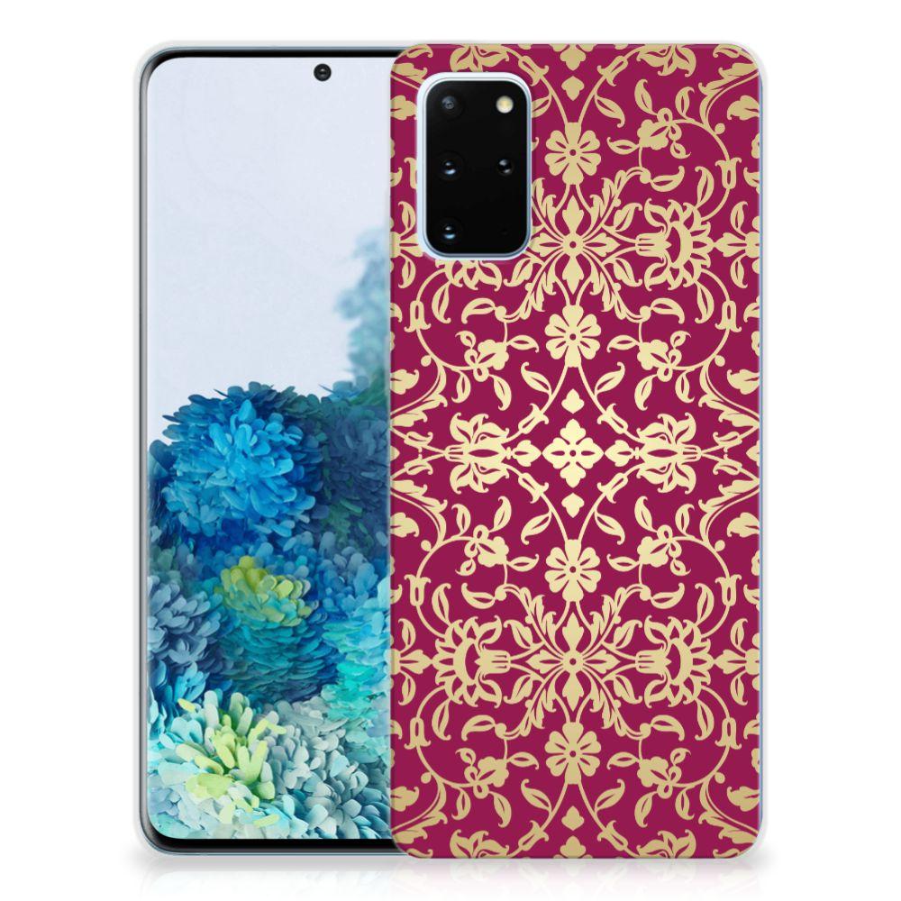 Siliconen Hoesje Samsung Galaxy S20 Plus Barok Pink
