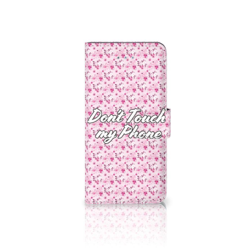 Honor 4A | Y6 Uniek Boekhoesje Flowers Pink DTMP