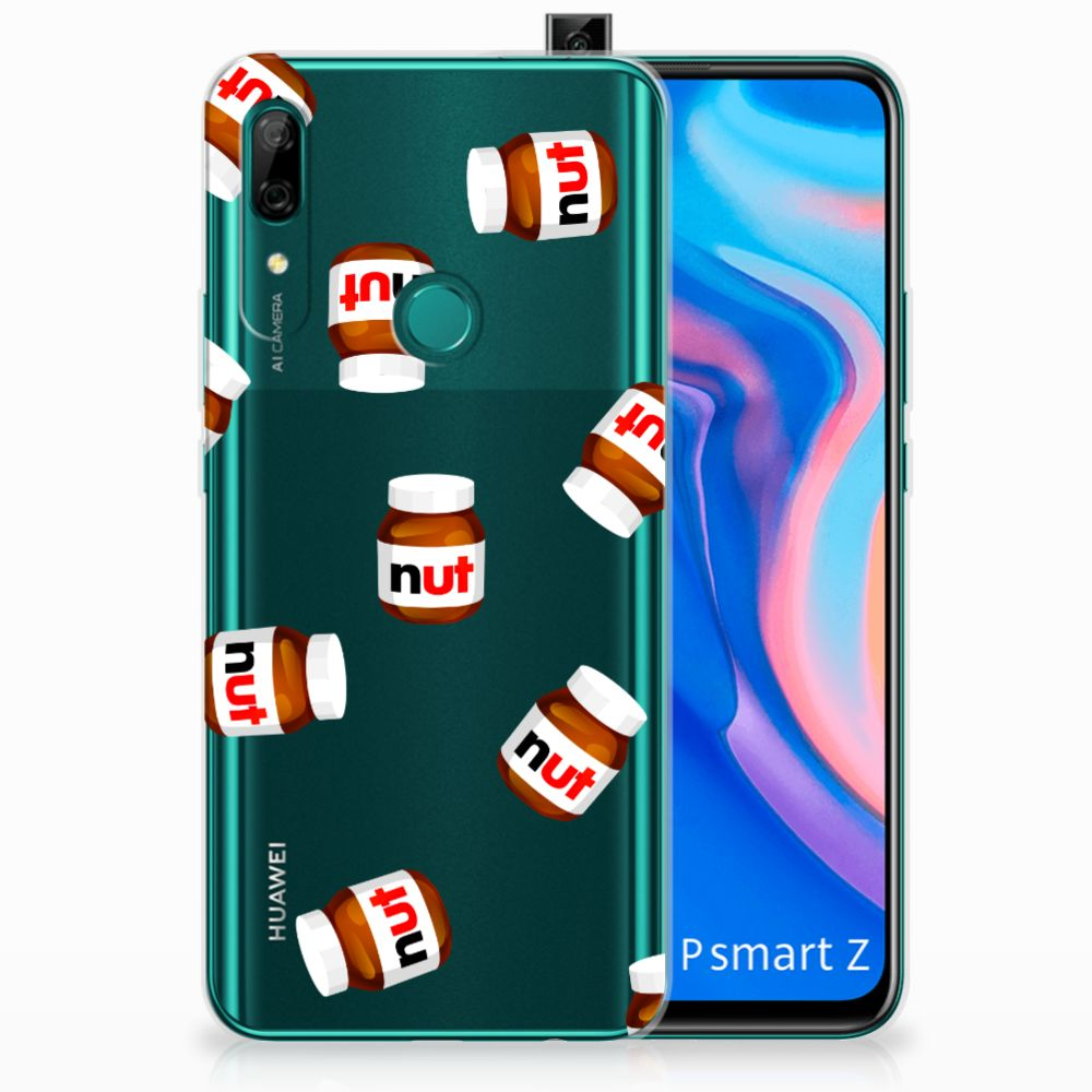 Huawei P Smart Z Siliconen Case Nut Jar