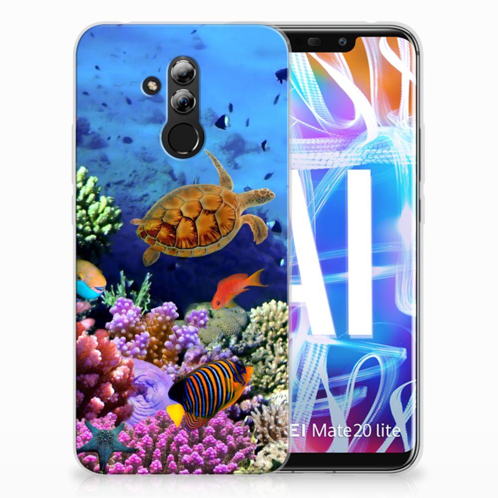 Huawei Mate 20 Lite TPU Hoesje Design Vissen