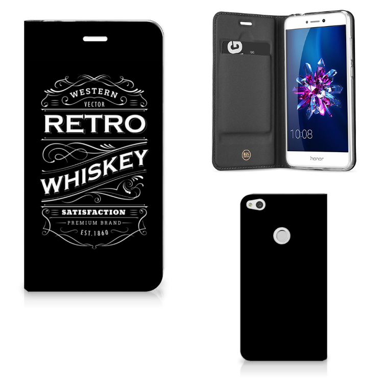 Huawei P8 Lite 2017 Flip Style Cover Whiskey