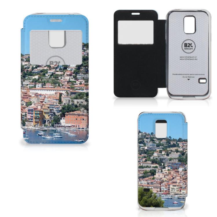 Samsung Galaxy S5 Mini Flip Cover Zuid-Frankrijk