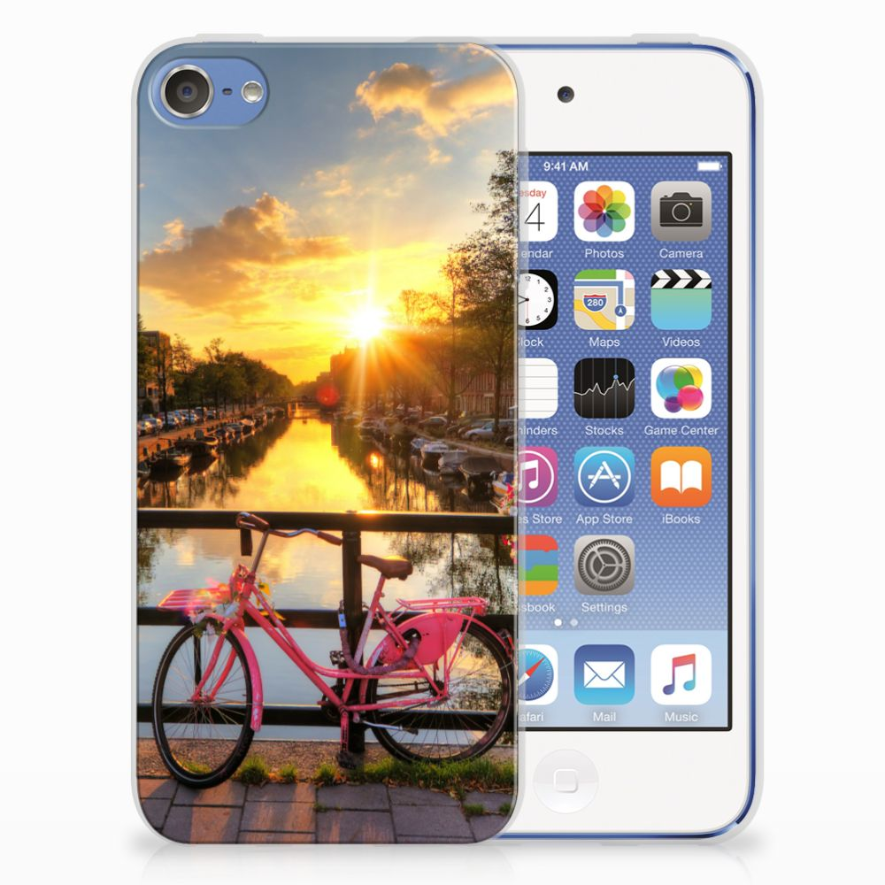 Apple iPod Touch 5 | 6 Siliconen Back Cover Amsterdamse Grachten