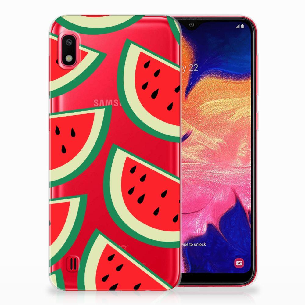 Samsung Galaxy A10 Siliconen Case Watermelons