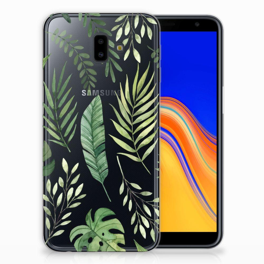 Samsung Galaxy J6 Plus (2018) TPU Case Leaves