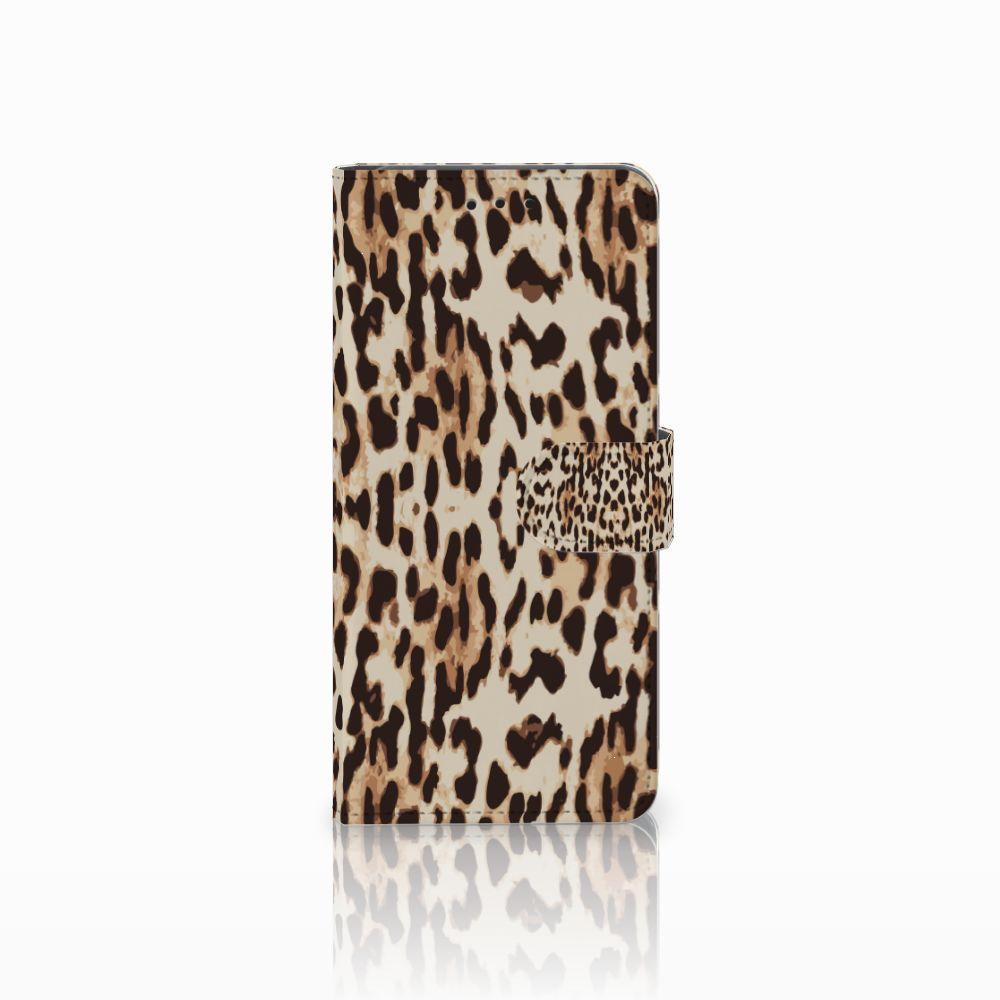 Huawei Mate 20 Pro Uniek Boekhoesje Leopard