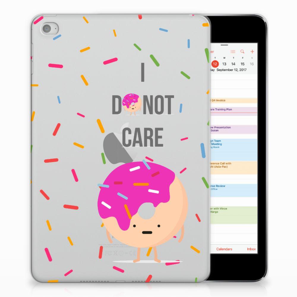 Apple iPad Mini 4 | Mini 5 (2019) Tablet Cover Donut Roze