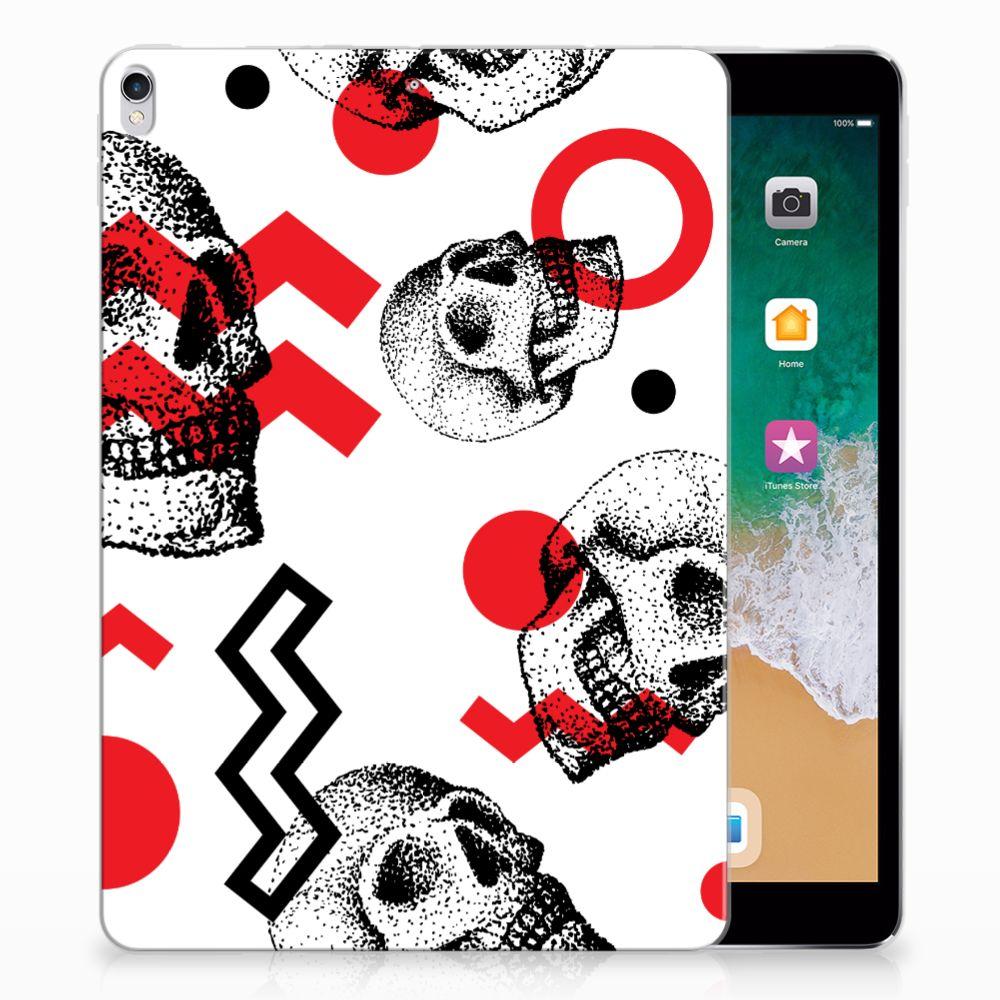 Tablet BackCover Apple iPad Pro 10.5 Skull Red